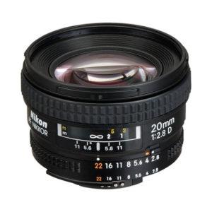 Nikon Nikkor AF 20mm f/2.8 D
