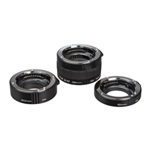 Kenko Auto Extension Tube Set DG (12, 20 & 36mm Tubes) for Sony Alpha