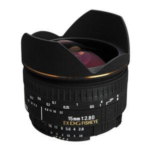 EX 15mm f/2,8 DG Fisheye
