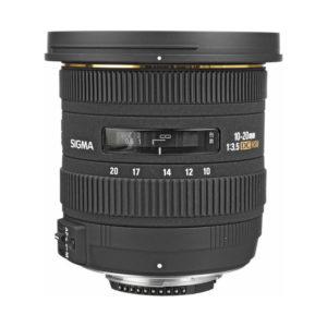 Sigma EX 10-20mm f/3,5 DC HSM