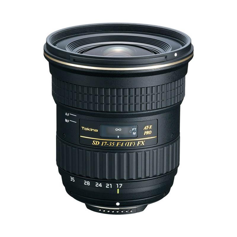 Tokina AT-X 17-35mm f/4.0 Pro FX • Canon