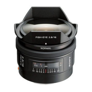 Sony 16mm f/2.8 alpha A-Mount