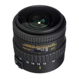 Tokina AT-X 10-17mm f/3.5-4.5 DX NH Fisheye