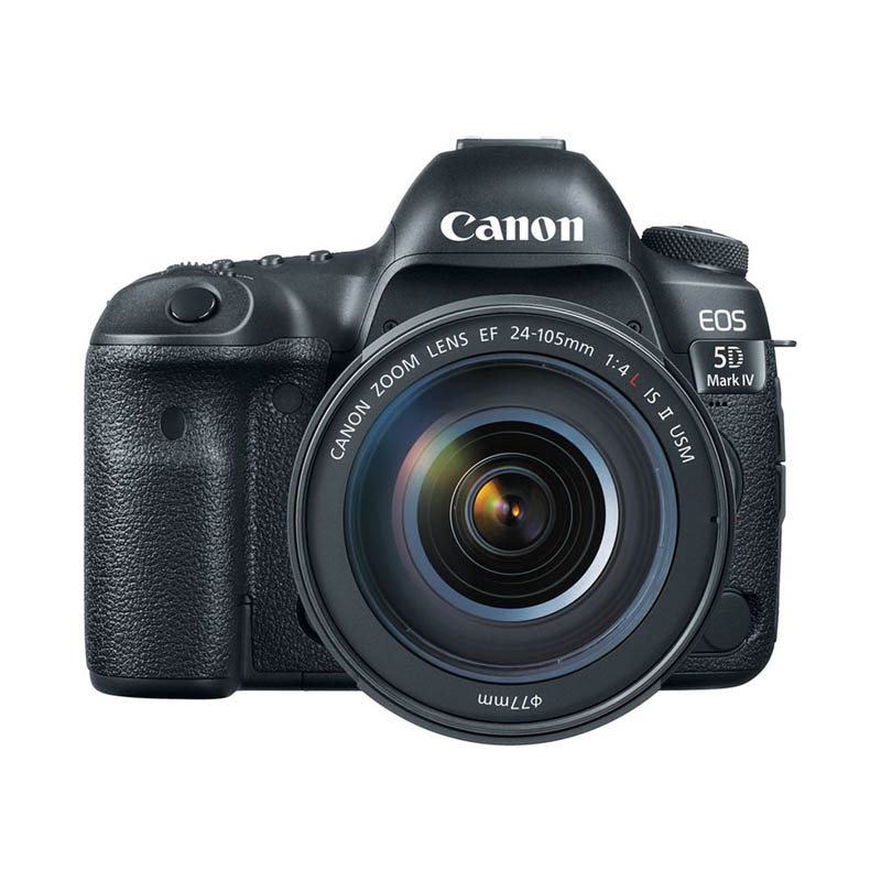 Canon EOS 5D Mark IV Body & Canon 24-105mm F/4L II