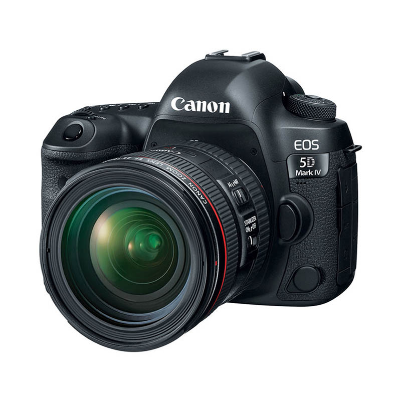 Canon EOS 5D Mark IV Body & Canon 24-70mm f/4.0 L