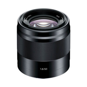 Sony E 50mm F/1.8 OSS • black