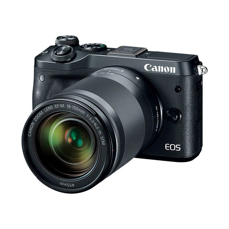 Canon EOS M6 Body & EF-M 18-150mm f/3.5-6.3 IS STM