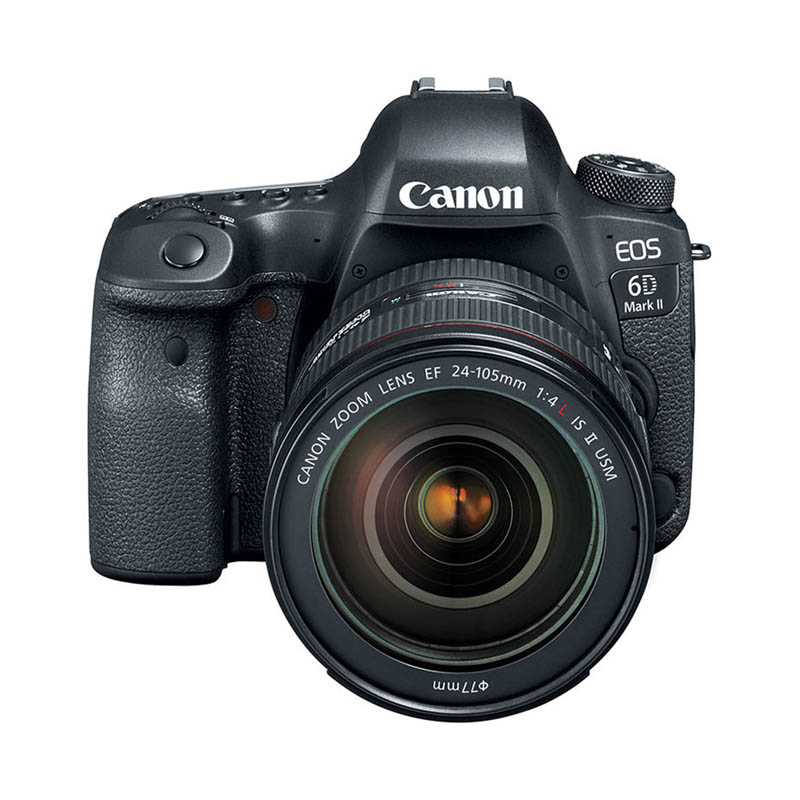 Canon EOS 6D Mark II Body & Canon EF 24-105mm f/4.0L IS USM II