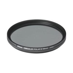 Nikon Circular Polarizer II Filter • 58mm