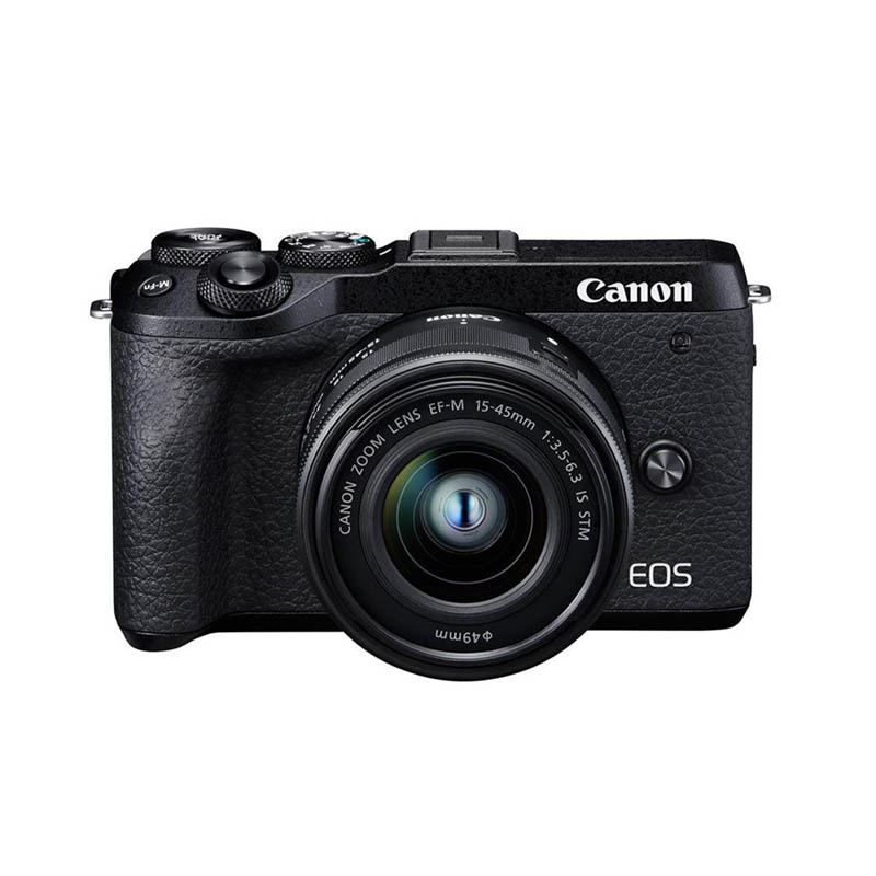 Canon EOS M6 Mark II Body & EF-M 15-45mm f/3.5-6.3 IS STM