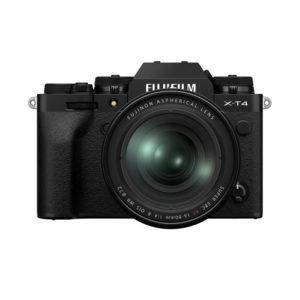 Fuji X-T 4 Body & XF 16-80mm • black