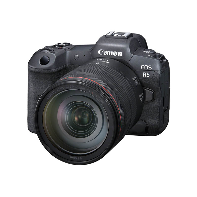 Canon EOS R5 & RF 24-105mm f/4.0L IS USM