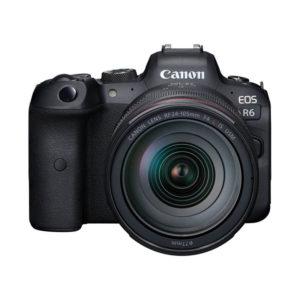 Canon EOS R6 & RF 24-105mm F/4.0L IS USM Incl. EF-R Adapter