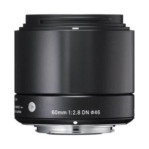 Sigma 60mm F/2.8 DN • Sony E-Mount • Black