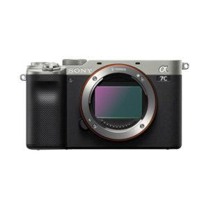Sony alpha A7C Gehäuse - silber