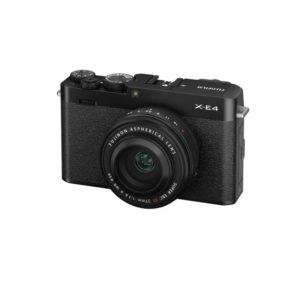 Fujifilm X-E4 Body + XF 27mm f/2.8 R WR